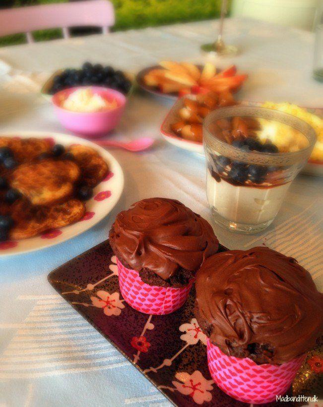 chokolademuffins brunch lchf low carb