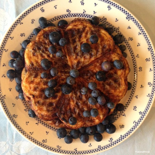Vafler LCHF, low carb, glutenfri
