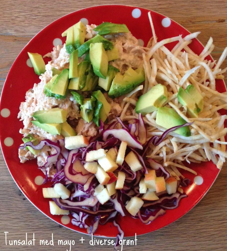 tunsalat frokost LCHF