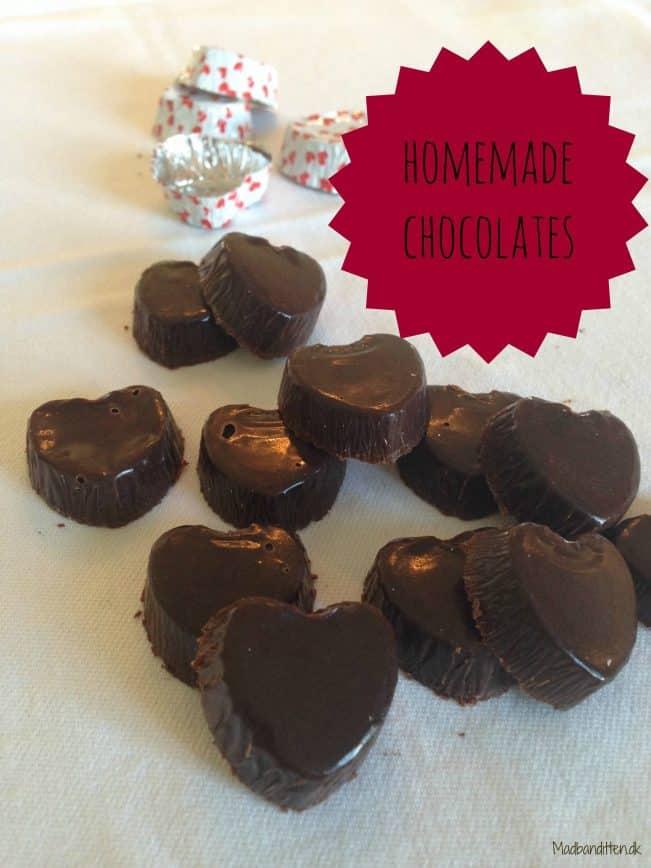 Hjemmelavede chokolader LCHF