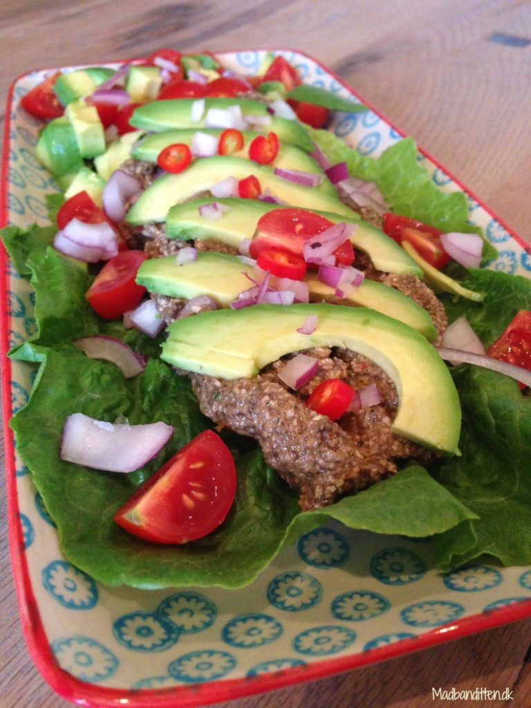 vegetar tacos raw vegan nøddefars