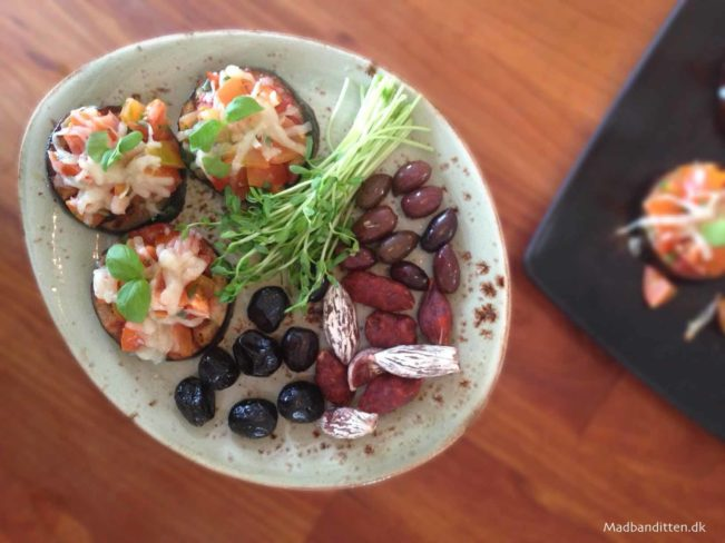 auberginepizza LCHF - Madbanditten