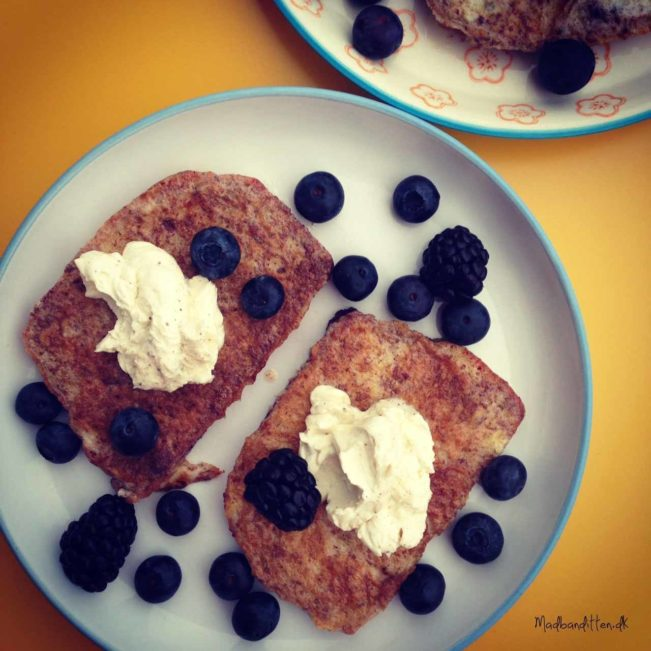 French toast - LCHF