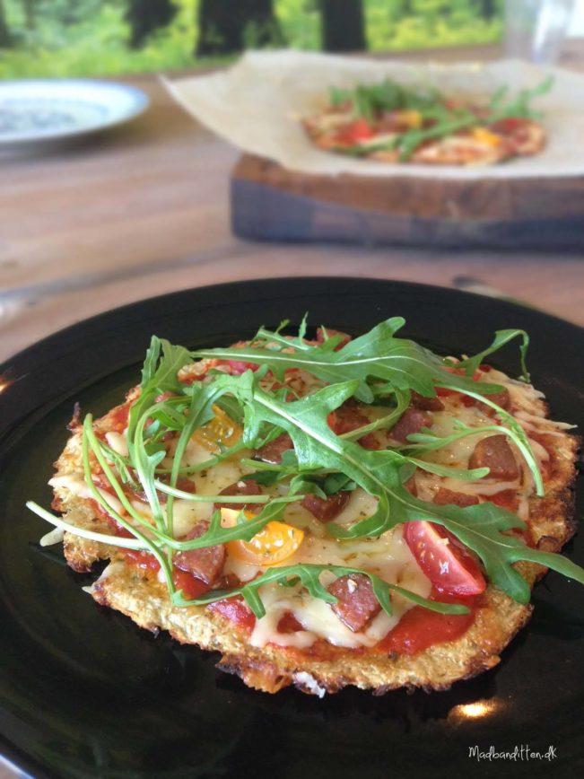 Bedste LCHF pizzabund - glutenfri, lowcarb
