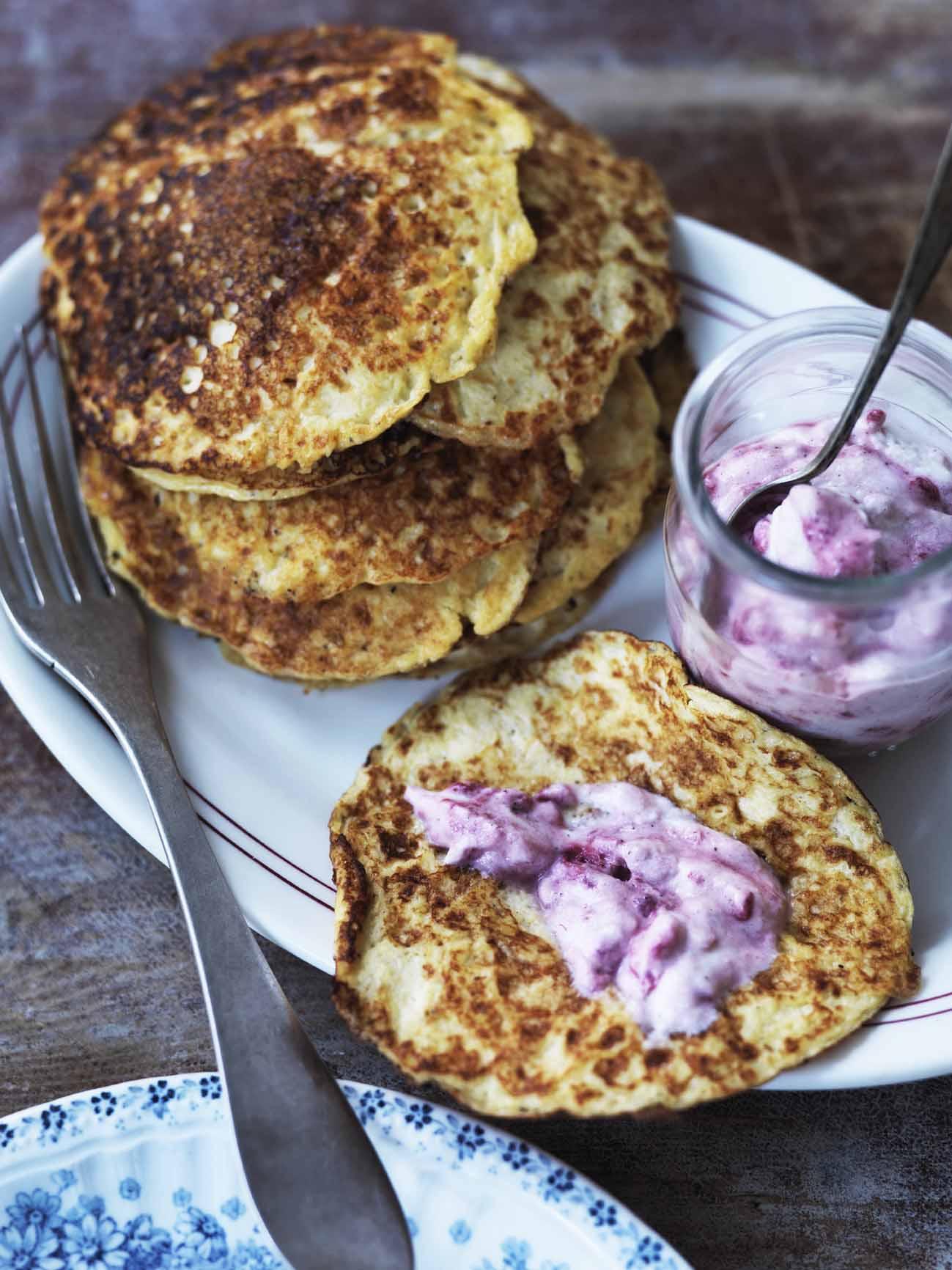 diabetes opskrifter pandekager uden