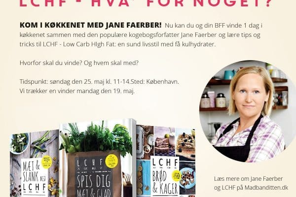 Vind en dag i køkkenet med Jane Faerber