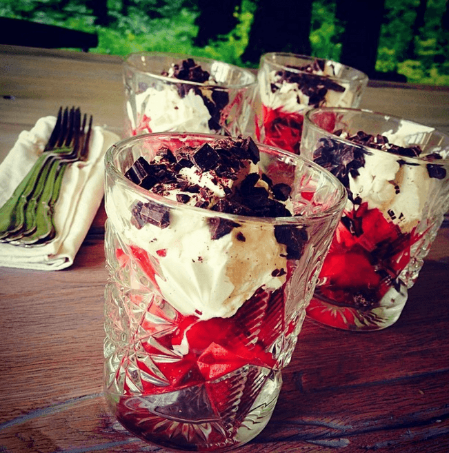 FRUGT OG LCHF - bedste LCHF dessert