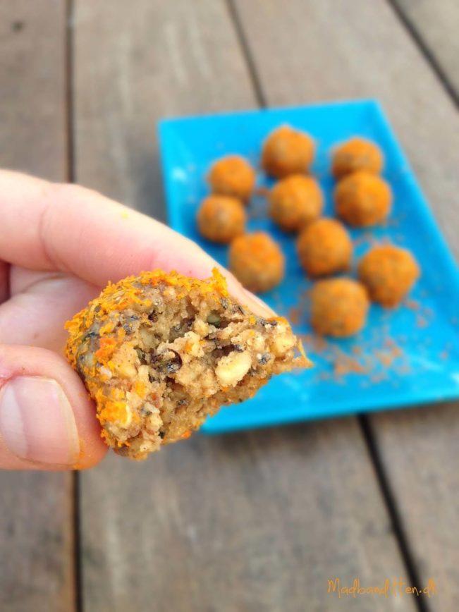 citruskugler med valnødder og smør - LCHF