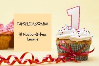 Fødselsdagsrabat LCHFbutikken