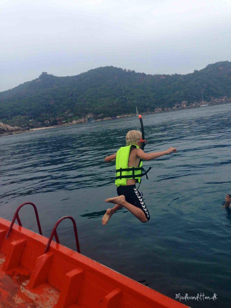 Snorkling, Ao Leuk, koh Tao