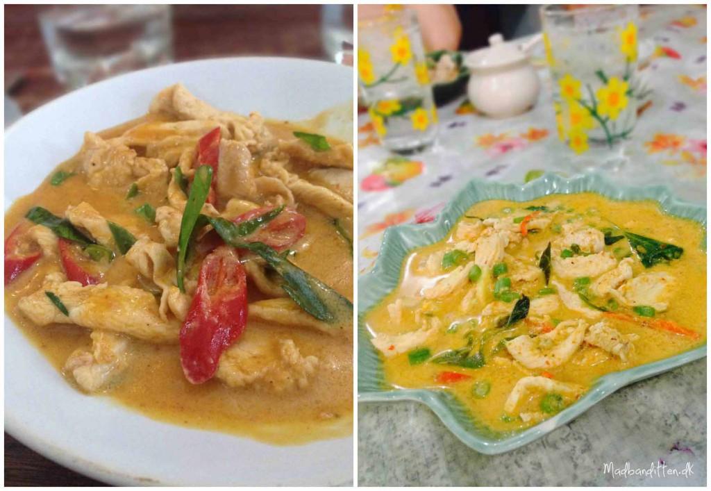 Panang curry, koh Tao