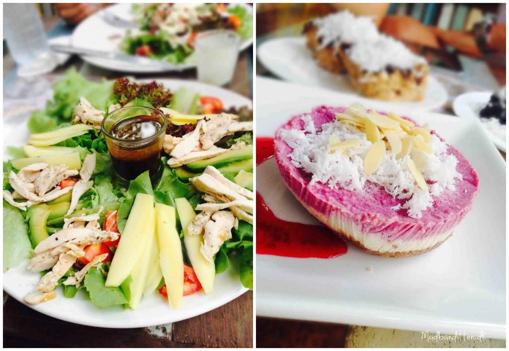 Raw food, Chalok Baan Kao, Koh Tao