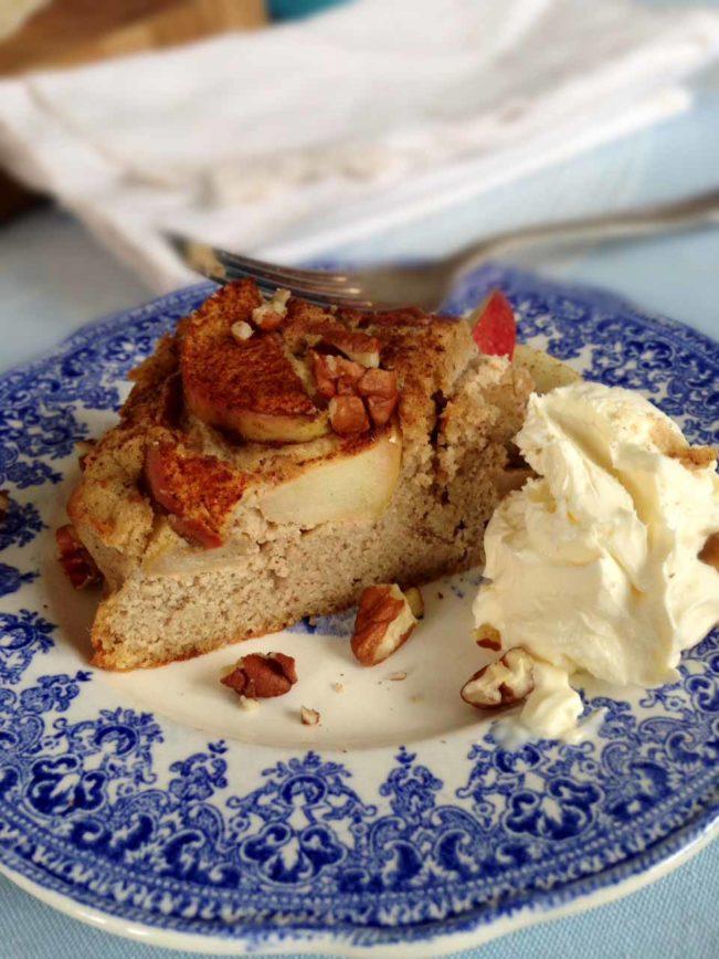 ÆBLEKAGE - glutenfri, sukkerfri og LCHF