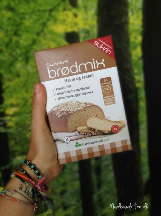 Low carb brødmix uden hele kerner