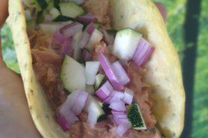 Melfrie tortilla med makrel - LCHF