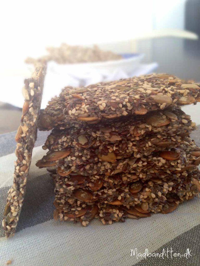 chiaknækbrød glutenfri og LCHF