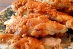 Kylling i flæskesværspanering - LCHF