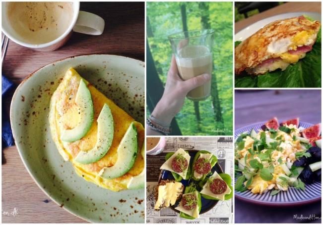 5 x morgenmad på striks LCHF
