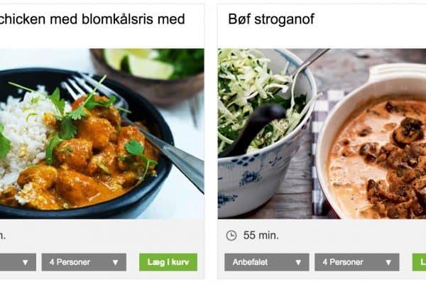 LCHF-opskrifter hos nemlig.com