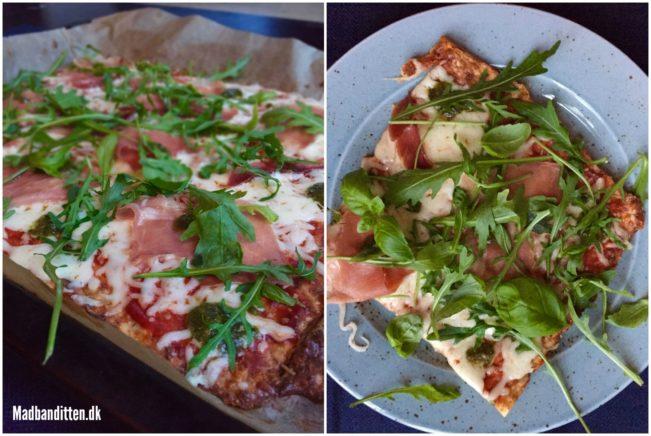Bedste low carb pizza --> madbanditten.dk