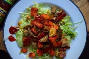Stop spild af mad og tryl dine rester om til denne dejlige pyt i pande - en slags alternativ biksemad -->madbanditten.dk