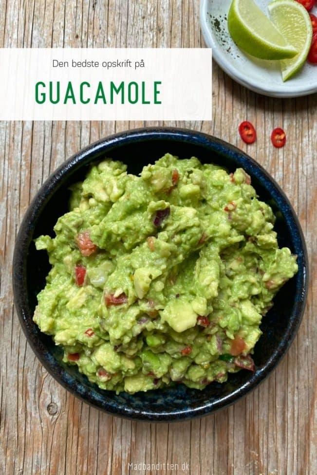 Guacamole - den bedste opskrift