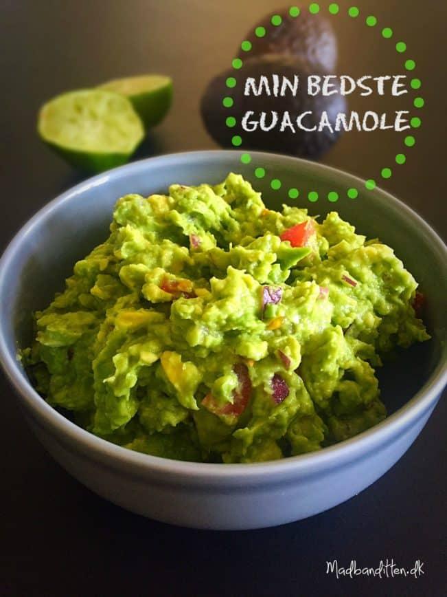 opskrift guacamole