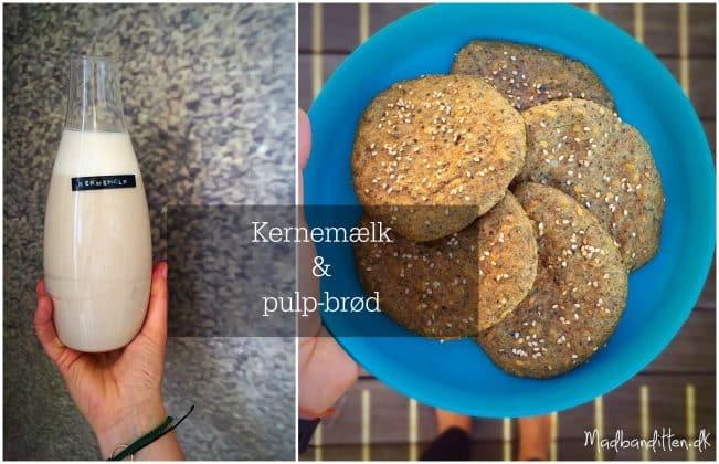Opskrift på kernemælk og pulpbrød --> madbanditten.dk