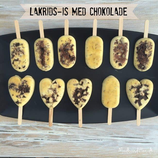 Sukkerfrie lakrids-ispinde med chokolade --> madbanditten.dk