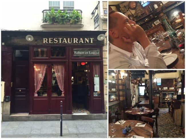 En foodies guide til gode restauranter i Paris -->Robert & Louise, Marais, Paris