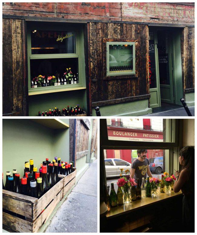 La Cave de Septime - hyggelig og meget rustik vinbar i Paris