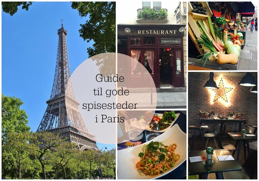Madbandittens guide til Paris - gode restauranter, foodie-steder og vintageshopping --> Madbanditten.dk