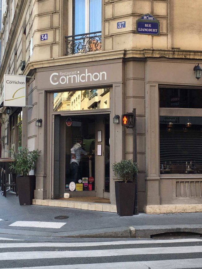 Le Cornichon - moderne fransk mad i Paris. Anbefalet i Michelinguiden