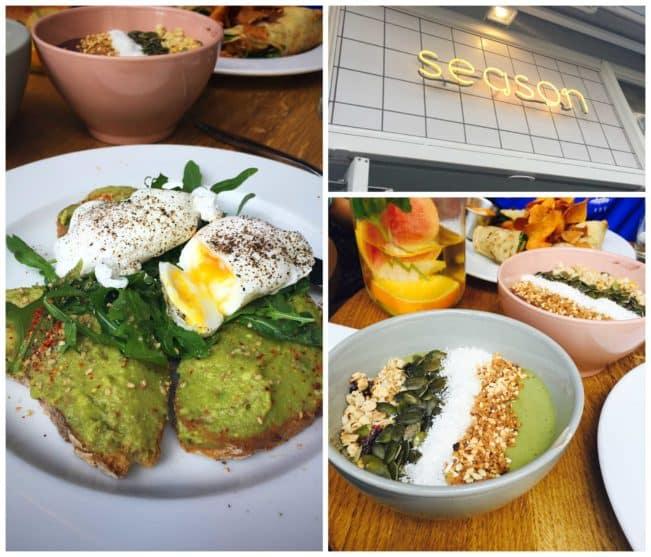 Season - på top 10 over de mest instagrammede restauranter i Paris og når man ser menuen, forstår man hvorfor!