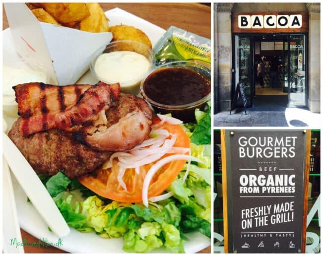 BACOA - sunde, økologiske, low carb/LCHF burgere af græsfodret kvæg i Barcelona --> Madbanditten.dk