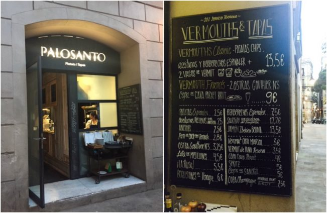 Palosanto - lækker tapas-restaurant med flere sunde retter i Barcelona --> Madbanditten.dk