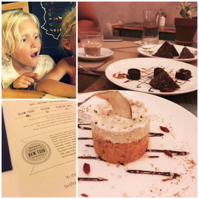 RAW FOOD restaurant i Barcelona --> Madbanditten.dk