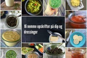 16 nemme opskrifter på dip og dressinger med sundt fedt for god smag, mere energi og mere mæthed. LCHF --> Madbanditten.dk