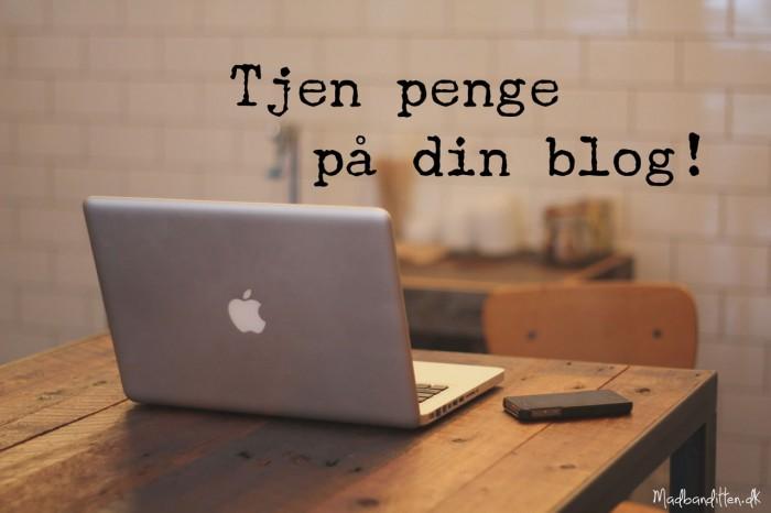 Vil du tjene penge på blogging? Sådan tjener du penge på din blog - tip til at starte en blog og gøre den til din forretning --> Madbanditten.dk