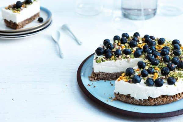 Cheesecake - Lækreste opskrift på LCHF-cheesecake - sukkerfri og glutenfri --> Madbanditten.dk