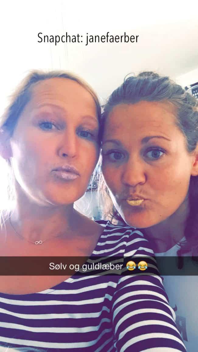 Følg Madbanditten - janefaerber - på Snapchat