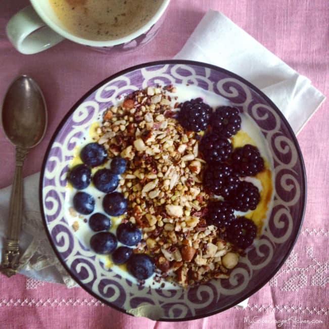 Græsk yoghurt med LCHF mysli