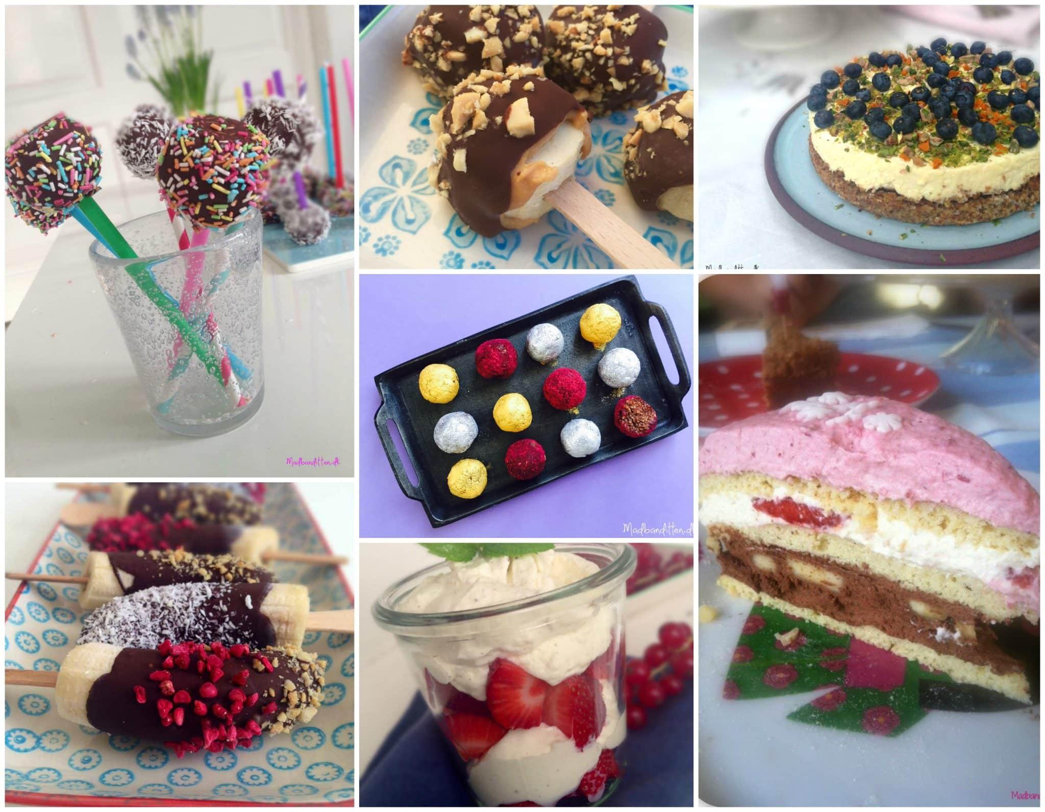 Inspiration til at holde børnefødselsdag med mindre sukker --> Madbanditten.dk
