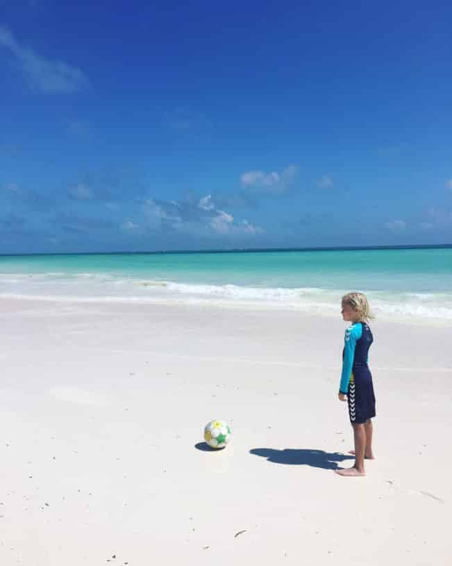 Zanzibar - den perfekte strand