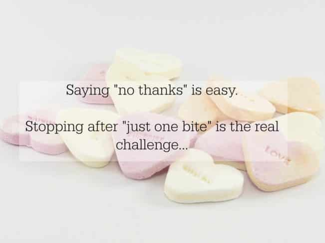 """Saying """"no thanks"""" is easy. Stopping after """"just one bite"""" is the real challenge! --> MyCopenhagenKitchen.com"""