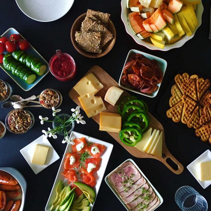frokost opskrifter gæster
