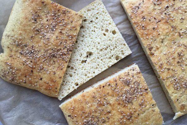 Toastbrød med få kulhydrater - low carb, LCHF og glutenfrit