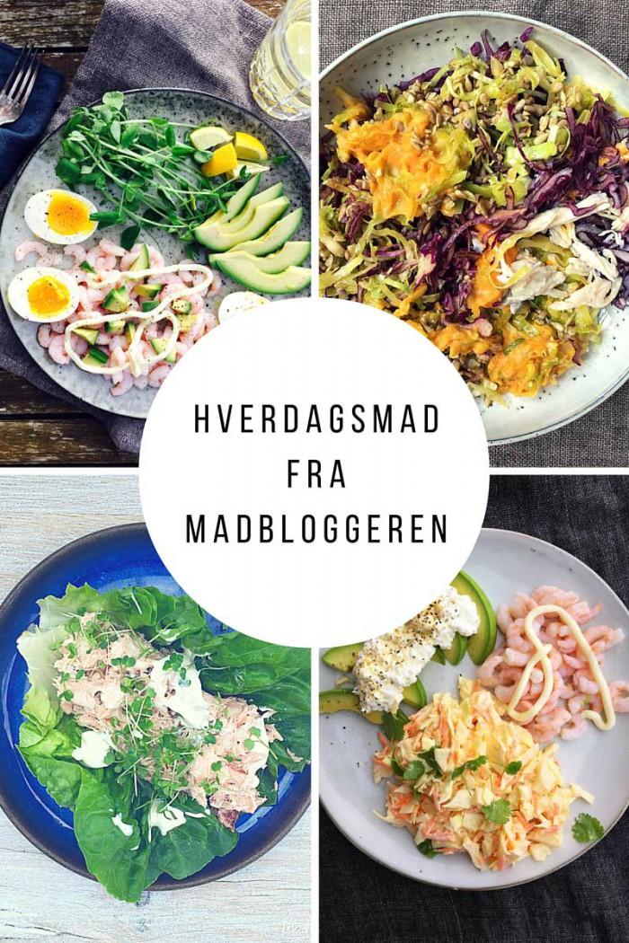 Hvad spiser madbloggeren bag kulissen? Se 8 x hvedagsmad fra madbloggeren her: Madbanditten.dk