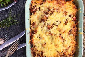 lasagne med aubergine og masser af skjulte grøntsager --> Madbanditten.dk
