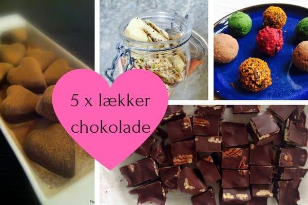 5 x lækker chokolade til valentinsdag